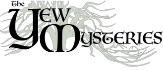The Yew Mysteries Mobile Retina Logo